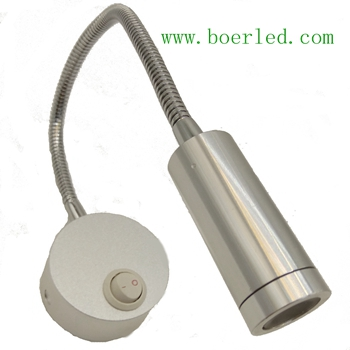 2W BEDSIDE LED WALL READING LAMP